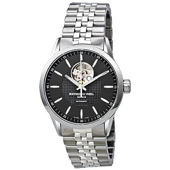 Raymond Weil Freelancer Automatic Open Balance Wheel Men's Watch 2710-ST-20021