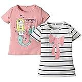 Name it - 2-p Vix Mini Ss Top Mar 215, T-shirt per bambine e ragazze