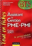 echange, troc Florence Fernandez, Michel Lozato, Paula Mendes - Assistant de Gestion PME-PMI BTS 1e et 2e années