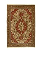 L'EDEN DEL TAPPETO Alfombra V.Kayseri Rojo/Barro 200 x 300 cm