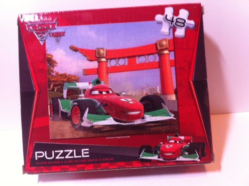 Cars 2 - 48 Piece Puzzle, Assorted - 1