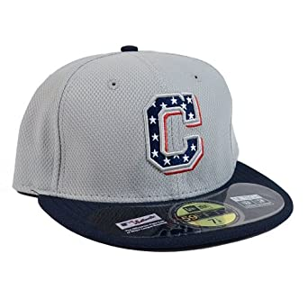 Cleveland Indians New Era MLB Stars and Stripes 4th of July Fitted Hat by New Era
