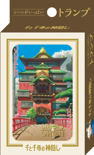 Studio Ghibli Spirited Away Playing Cards Made in Japan - 1