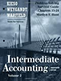 img - for Problem Solving Survival Guide, Volume II (Chapters 15-24) to accompany Intermediate Accounting book / textbook / text book