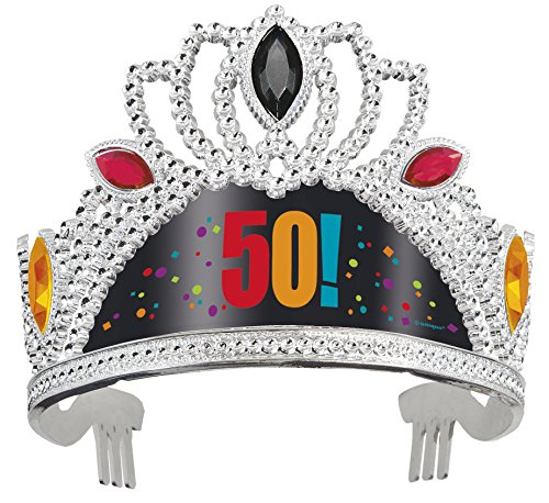 Birthday Cheer 50th Birthday Tiara - 1
