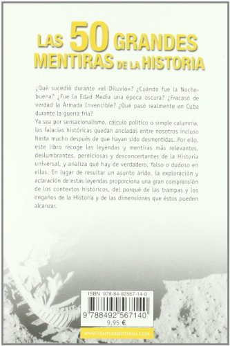 Las 50 grandes mentiras de la historia (Spanish Edition)