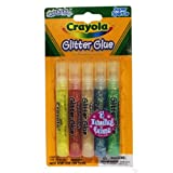 Crayola 5 Count Super Sparkle Washable Glitter Glue