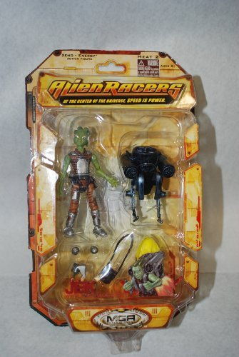 Alien Racers Heat 2 (Jek) Xeno-Energy Action Figure