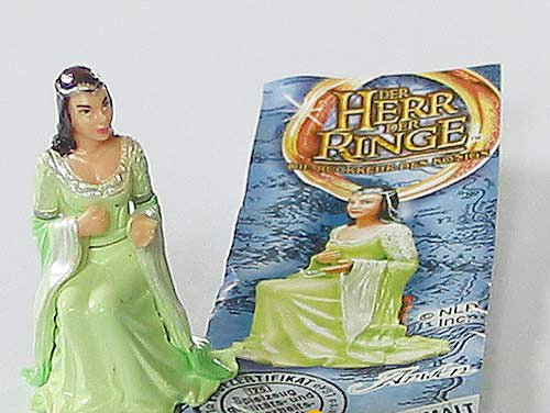 Kinder &#220;berraschung Arwen von HDR III aus dem Adventskalender (Herr der Ringe III)