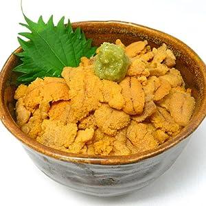 [訳あり] 生食 業務用 お寿司屋さん仕様の ムラサキウニ 大きさ無選別