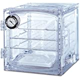 Bel-Art Scienceware 424004011 Polycarbonate Lab Companion Cabinet Style Vacuum Desiccator, Clear, 35L Volume