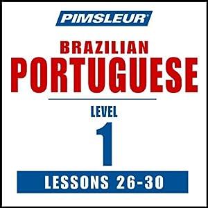 Pimsleur Portuguese (Brazilian) Level 1 Lessons 26-30 Speech