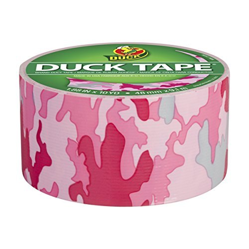 Pink Camo Duck Tape Craft Pape - 1