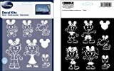 Stick Family Decal Kit - Disney Mickey Mouse Ears Special Edition - 14 pc Set