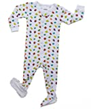 "Leveret Footed ""Birds Design"" Pajama Sleeper 100% Cotton (Size 6M-5T)"