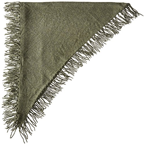 Design History Women's Cashmere Scarf, Army Green Heather, One Size