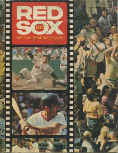 1973 Boston Red Sox Official Yearbook at Amazon.com