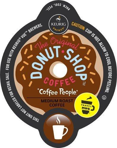 Keurig V-Cup Coffee People Donut Shop Travel Mug 12ct (Keurig Vue Cup Donut Shop compare prices)
