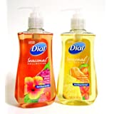 Dial Seasonal Collection Antibacterial Liquid Hand Soap With Moisturizer Combo - Tropical Bloom And Tropical Fruit...