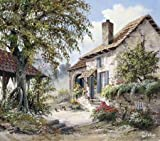 Grandpas house by Withaar, Reint - Fine Art Print on PAPER : 22.5 x 19.5 Inches