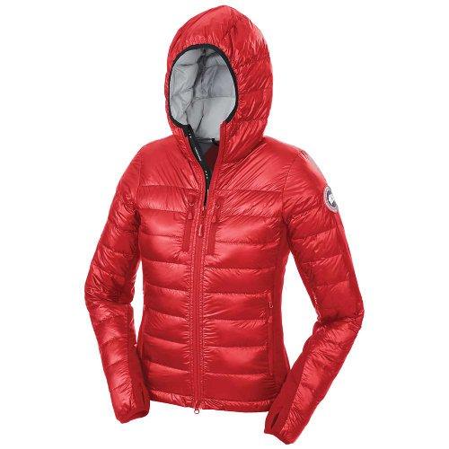 Canada-dOie-hybridge-Lite--capuche-pour-homme-Rouge-Taille-Petit