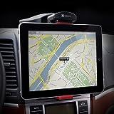 【正規品】EXOGEAR タブレットPC向け車載ホルダー Exomount Tablet カーマウント iPadなど各種タブレット対応(7インチ~10.1インチ) 安全・安心重視タイプ ブラック E452