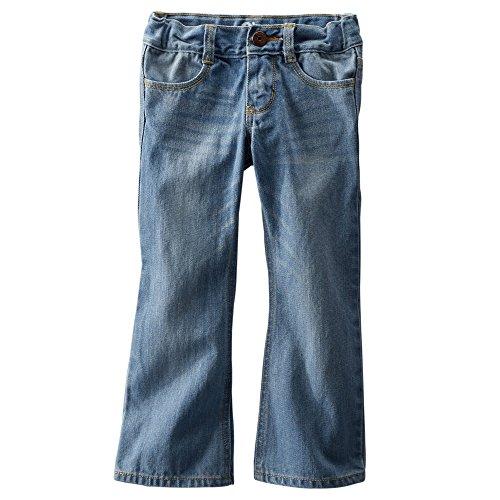 Osh Kosh B'Gosh Big Girls' Boot Cut E-Z Adjust Waist Jeans - Slim (7S)