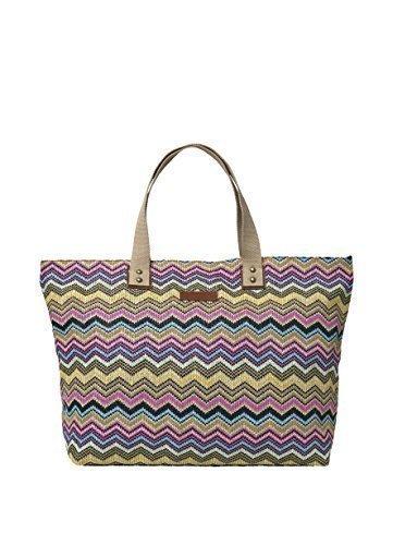 becksndergaard-Shopper-Sicily-pink-ice-40183-642-gestreift-mehrfarbig-50x30-cm
