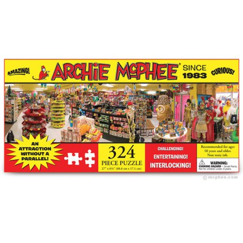 Accoutrements Archie McPhee Store Puzzle