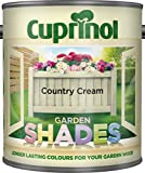 Cuprinol Garden Shades 1L Country Cream