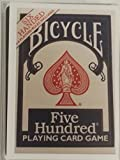 Bicycle Six Handed 500 Card Deck