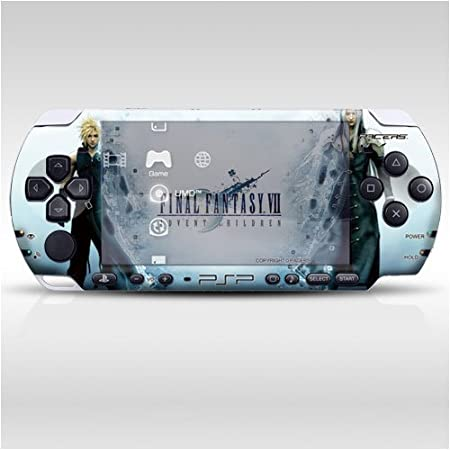 Final Fantasy Decorative Protector Skin Decal Sticker for PSP-3000, Item No.0858-08