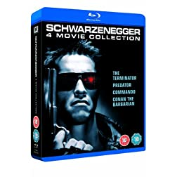 Arnold Schwarzenegger Boxset [Blu-ray]