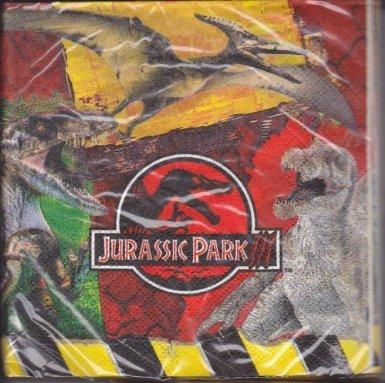 Jurassic Park III Small Napkins (16ct)
