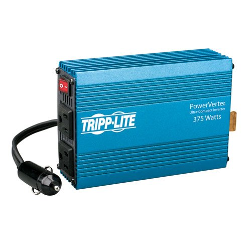 Tripp Lite PV375 Portable Auto Inverter 375W 12V DC to AC 120V 5-15R 2 Outlet