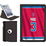 Chris Paul - Road Jersey Back design on a Black iPad Mini Swivel Stand Case by Coveroo