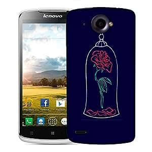 Snoogg Bell Rose Designer Protective Back Case Cover For Lenovo S920