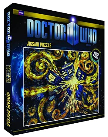 Doctor Who Exploding Tardis 1000 Piece Jigsaw Puzzle - Dr Who Puzzle