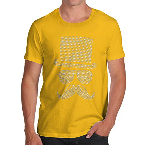 TWISTED ENVY -  T-shirt - Maniche corte  - Uomo Yellow Large
