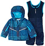 Columbia Unisex-Baby Infant Buga Set, Collegiate Navy Houndstooth, 12-18 Months