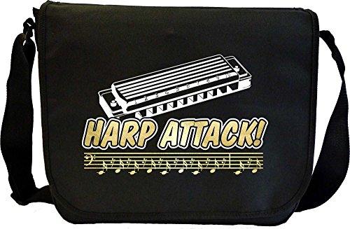 Harmonica-Attack-Waves-Bassline-Sheet-Music-Document-Bag-Musik-Notentasche-MusicaliTee