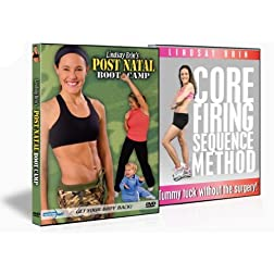 PostNatal Boot Camp (Beginner) 2-Pack DVD, Lindsay Brin