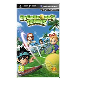 Everybodys Tennis Sony Psp by Sony