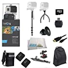 GoPro HERO3+ Black Edition Camera (CHDHX-302) + Action Pro Series All In 1 Outdoors Kit Designed for flat surface - helmet biking, skydiving, surfing, horsebackriding, freerunning, motorcross, atv, jetski, snowboarding, skiing,mountain climbing, first person recording, hunting paintball, airsoft + Extra Necessary Accessories