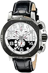 Swiss Legend Men's 10537-02S-BBP Scubador Analog Display Swiss Quartz Black Watch