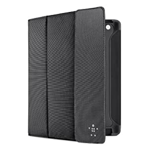 Belkin Storage Folio Case / Cover with Stand for the Apple iPad with Retina Display (4th Generation) & iPad 3 (Black)