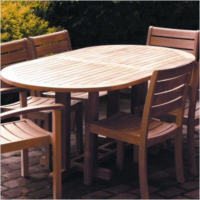 Buy Low Price Three Birds Casual Camden 72″-96″ Oval Extension Dining Table (CM96)