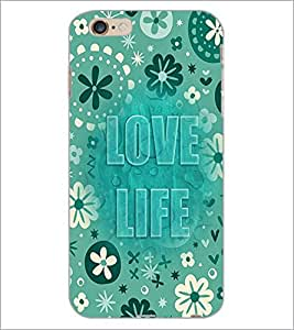 PrintDhaba Quote D-3683 Back Case Cover for APPLE IPHONE 6S PLUS (Multi-Coloured)