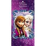 Disney Beach Towel Frozen Anna & Elsa Queen of the Mountain Bath Towel 100% Cotton by Disney