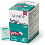 Medique/Medi-First 80248 Chewable Mint Antacid Tablets, 125-Packets